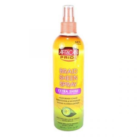 African Pride Extra Shine Braid Sheen Spray-0