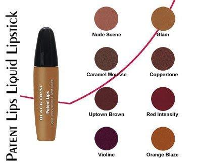Black Opal Patent Lips Liquid Lipstick - Nude Scene-0