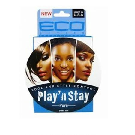 Eco Styler Play N Stay Edge & Style Control Pure Pomade-0