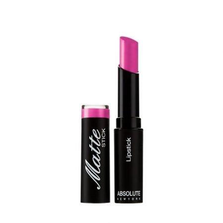 Absolute New York Matte Lipstick- Dark Raspberry-0