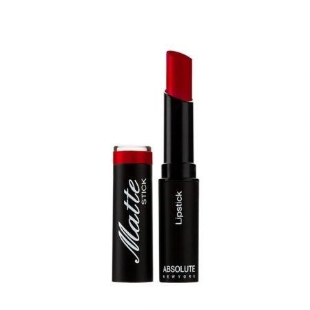 Absolute New York Matte Lipstick- Dark Red-0