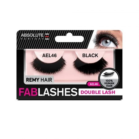 Absolute New York Remy Double Lash Fablashes- AEL 46-0