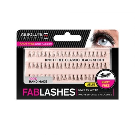 Absolute New York Knot Free Classic Black Short Fablashes- AEL 55-0