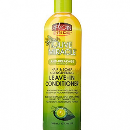 African Pride Leave In Conditioner Hair & Scalp Strengthening Tonic 12oz-0
