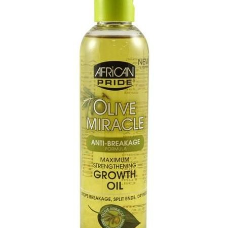 African Pride Olive Miracle Growth Oil 8oz-0