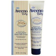 Aveeno Baby Soothing Relief Diaper Rash Cream 3.7 oz-0