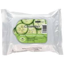 Beauty Treats - Makeup Remover Cleansing Tissues (Cucumber)-0