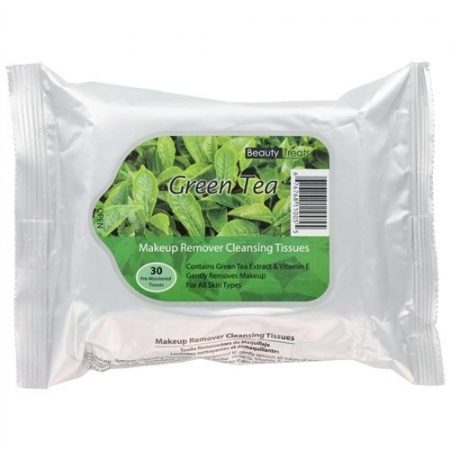 Beauty Treats - Makeup Remover Cleansing Tissues (Green Tea)-0