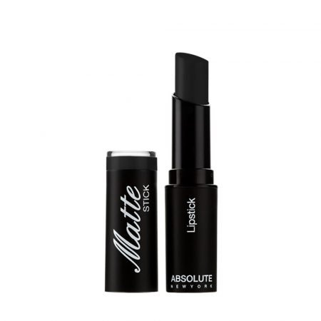 Absolute New York Matte Lipstick- Black-0