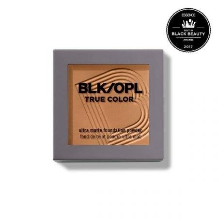BLK/OPL TRUE COLOR ULTRA MATTE FOUNDATION POWDER - DARK-0