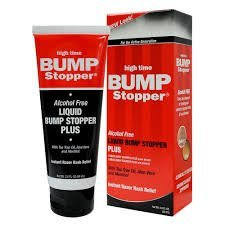 HIGH TIME LIQUID BUMP STOPPER PLUS INSTANT RAZOR RASH RELIEF - 2OZ-0