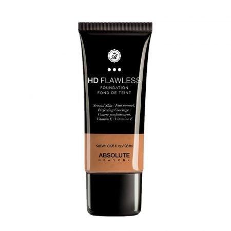 Absolute New York HD Flawless Fluid Foundation - Caramel-0