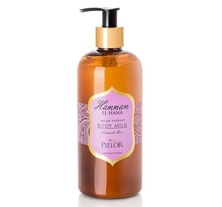 Pielor Hammam El Hana Argan Therapy Body Milk- Damask Rose-0