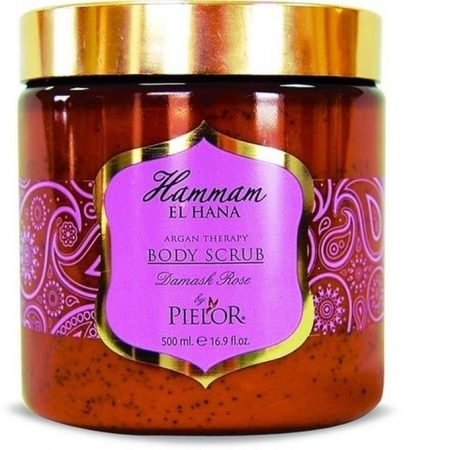 Pielor Hammam El Hana Argan Therapy Body Scrub- Damask Rose -0