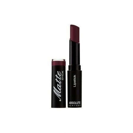 Absolute New York Matte Lipstick- Dark Plum-0