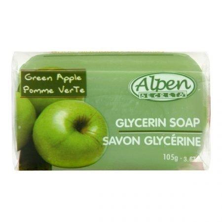 Alpen Secrets Glycerin Bar Soap- Green Apple-0