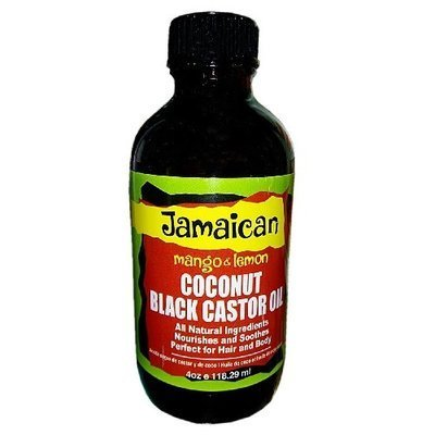 Kuddy Cosmetics Coconut Black Castor Oil - 4oz-0