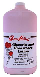 Queen Helene Glycerin & Rosewater Manicure Treatment Lotion - 1 Gallon-0