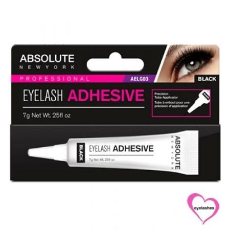 Absolute Eyelash Glue with Brush Clear AELG03-0