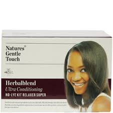 Nature Gentle Touch Herbal Blend Kit Relaxer Super-0