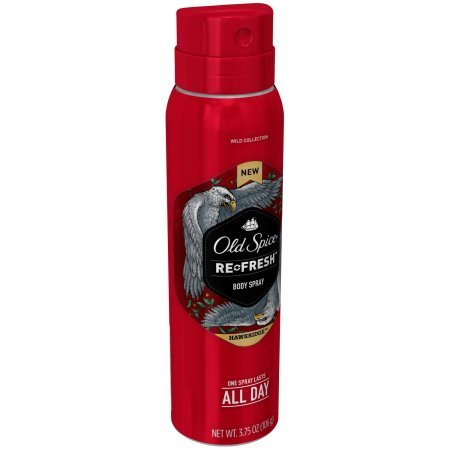 Old Spice Re-Fresh Wild Collection Hawkridge Body Spray 3.75 oz-0