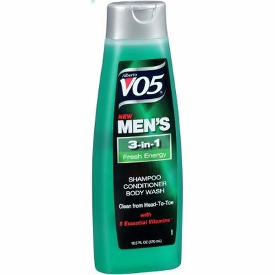 Alberto VO5 Men's 3-in-1 Fresh Energy Shampoo, Conditioner + Body Wash - 12.5 fl oz-0