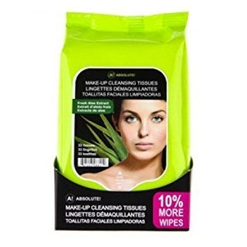Absolute New York Fresh Aloe Extract Make Up Tissues - 33wipes-0
