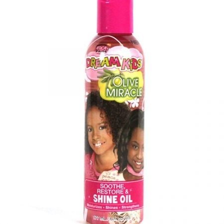 AFRICAN PRIDE DREAM KIDS OLIVE MIRACLE SHINE OIL - 6OZ-0