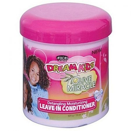 African Pride Dream Kids Olive Miracle Detangling Moisturizing Leave-In Conditioner 15 oz-0