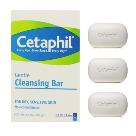 Cetaphil Gentle Cleansing Bar 3pack-0