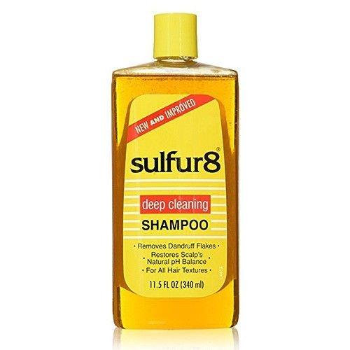 Sulfur 8 Deep Cleaning Shampoo For Dandruff- 340ml -0