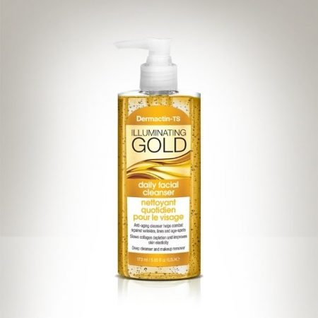 DERMACTIN - TS DAILY FACIAL CLEANSER - ILLUMINATING GOLD 5.7oz-0