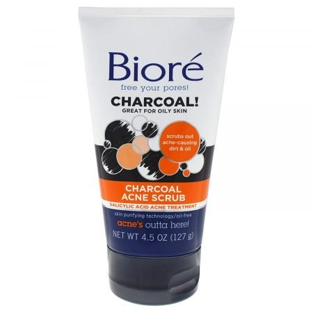 BIORÉ® CHARCOAL ACNE SCRUB-0