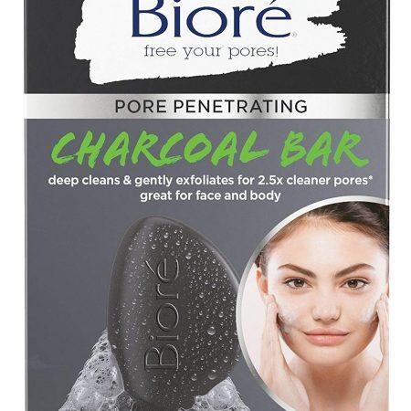 Bioré Pore Penetrating Charcoal Bar 3.77 oz-0