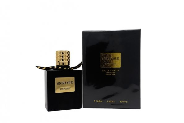 Scentric Aroma Oud Eau De Parfum- 100ml-0